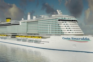 Costa Smeralda : le futur navire GNL de Costa Croisières arrivera en 2019