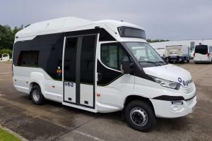 Trouillet D-City GNV : le nouveau mini-bus au gaz dédié aux centres urbains