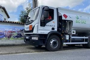 Un Eurocargo ADR au gaz naturel pour la société DEFA