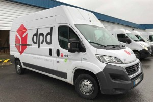 De nouveaux véhicules au gaz naturel pour DPD en Ile-de-France
