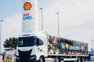 En Allemagne, les supermarchés Edeka vont rouler au bioGNL avec Shell et Iveco