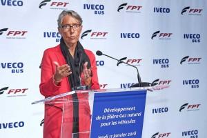 La Ministre des Transports affirme son soutien à la filière GNV