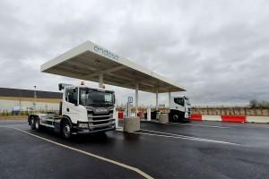 Sigeif Mobilités et Endesa inaugurent une nouvelle station GNV à Wissous