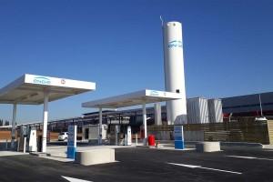 Gard : GNVert ouvre la station GNLC de Garons
