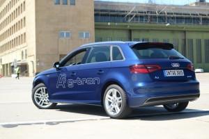 Voitures GNV - E.ON ajoute 40 Audi A3 G-tron � sa flotte