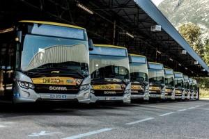 Les bus bioGNV bien placés dans une étude de l'Ademe