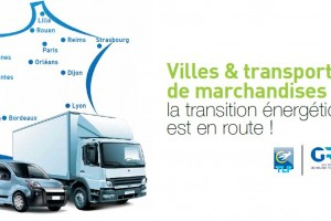 Villes et transports de marchandises : les politiques locales au coeur d'un rapport de TLF et GRDF