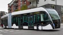 Scania s'associe à Van Hool pour présenter le bus Exqui.city au gaz naturel