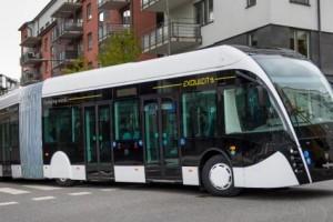 Scania s�associe � Van Hool pour pr�senter le bus Exqui.city au gaz naturel