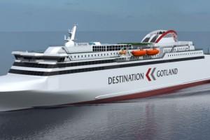 Suède - Rederi AB valide la construction d'un nouveau ferry GNL