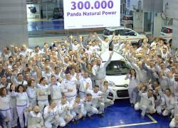Fiat a fabriqué plus de 300.000 Panda au gaz naturel