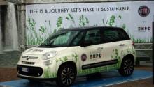 La Fiat 500 GNV à l'honneur de la prochaine exposition universelle à Milan