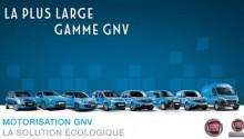 Fiat expose sa gamme GNV au Congrès Mondial du Gaz