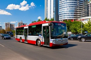P�kin commande 1500 bus au gaz naturel � Foton