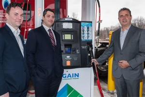 Gain Clean Fuel inaugure sa premi�re station GNV publique au Qu�bec