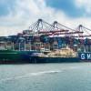 Total réalise le premier avitaillement en GNL d'un porte-conteneurs en France