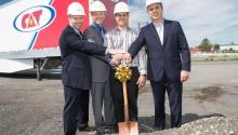 Canada - Gaz Métro et Gain Fuel entame les travaux de leur première station GNV