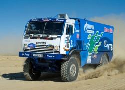 Africa Eco Race – Le camion GNV de Kamaz sur le podium