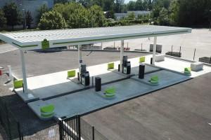 A Grenoble, la station GNV de La Tronche ouvre ses portes