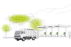 Grenoble : GEG lance la construction de la station GNV de La Tronche