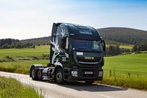 En Ecosse, les camions au gaz de Glenfiddich roulent aux déchets de whisky