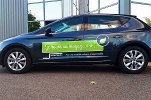 MyMobility roule au gaz naturel avec la Seat Leon TGI