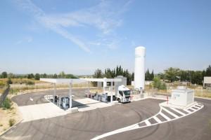 GNVert ouvre sa nouvelle station GNL-C d'Aix-en-Provence