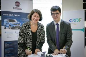 Fiat et GRDF s'unissent pour développer le GNV