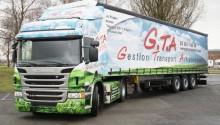 Scania France livre son premier camion GNV Euro 6 à GTA