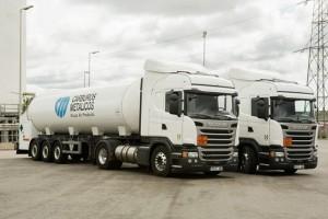 Deux camions GNL Scania pour HAM