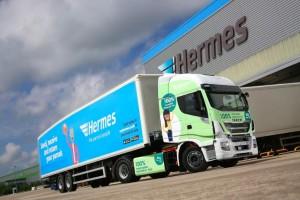 Royaume-Uni : sept camions au GNV supplémentaires pour le transporteur Hermes