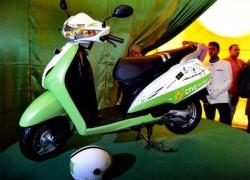 Honda va tester des scooters au gaz naturel en Inde