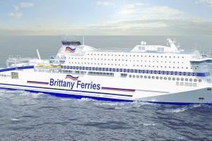 Brittany Ferries s'associe à Total pour le ravitaillement de son premier navire GNL