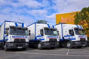 Le transporteur Houtch reçoit 21 nouveaux porteurs GNC à grande autonomie
