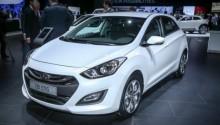 La nouvelle Hyundai i30 GNV présentée à Paris