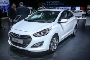 La nouvelle Hyundai i30 GNV pr�sent�e � Paris