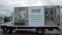 Ikea lance une flotte de camions biométhane à Paris