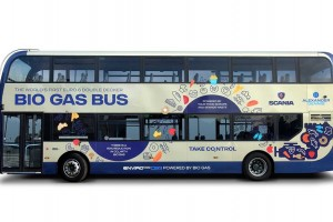 Angleterre : Ipswich teste un bus à deux étages au biogaz