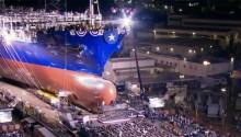 Livraison du premier porte-conteneur GNL aux Etats-Unis