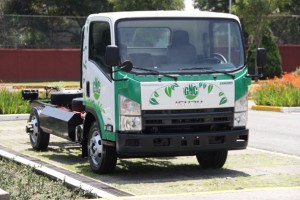 Isuzu lance son camion au gaz naturel ELF 500 GNC au Mexique