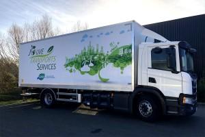 A Nantes, les Transports Jouve misent sur les camions au gaz naturel