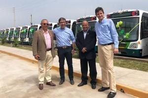 Au Pérou, Lima roule avec des bus GNV