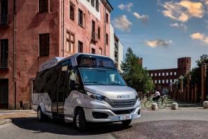 Minibus GNV : Iveco présente son nouveau Daily Access CNG