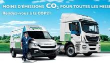Iveco met à l'honneur son offre GNC et GNL pour la COP21