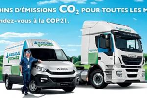 Iveco met � l�honneur son offre GNC et GNL pour la COP21