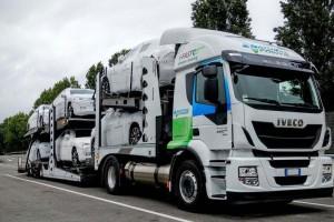 10 camions porte voitures au gaz pour i-Fast Automotive Logistics
