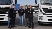 Italie – Deux Iveco Stralis GNL pour le transporteur Rainbow