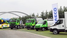 Une flotte GNV Iveco à l'Exposition Universelle de Milan