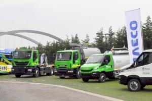 Une flotte GNV Iveco � l�Exposition Universelle de Milan