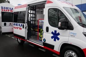 Jussieu Secours met en service sa première ambulance au bioGNV